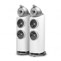 B&W 802 D3 Floorstanding Loudspeakers - White- Ex Demonstration