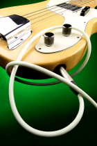 Chord Cream instrument cable