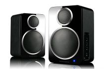 Wharfedale DS-2 Active Speaker-Black Leather