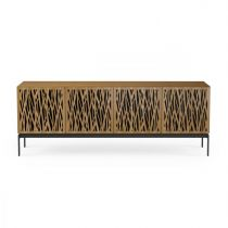 Elements 8779-CO Storage Console Wheat / Walnut
