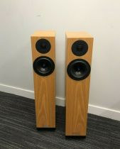 Spendor A2 Loudspeakers - Oak - Second Hand