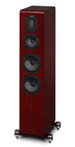 Quad S-4 Standmount Speakers (sapele mahogany side)