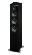 Quad S-5 Standmount Speakers (black side)