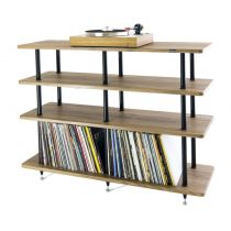 Solid Steel VL-4 Vinyl Record Storage & Hi-Fi Rack