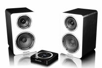 Wharfedale Diamond Active A1 Wireless Speakers White