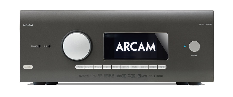 Arcam reveals complete new AV amplifier range
