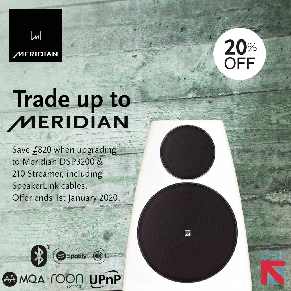 Meridian Trade Up Promotion